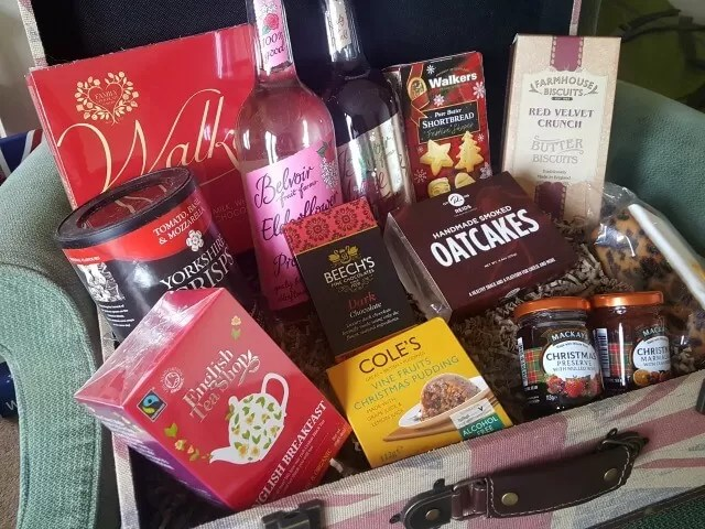 christmas gift hamper products