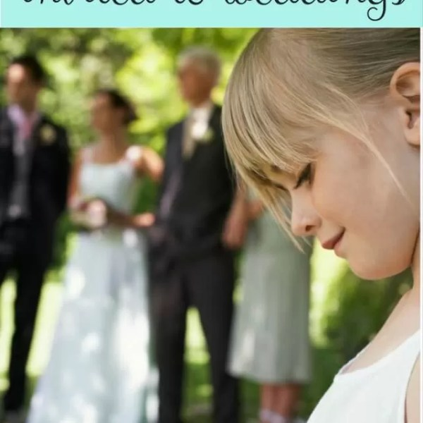 Children at weddings – should they be invited