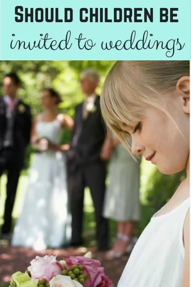 kids at weddings - bubbablue and me