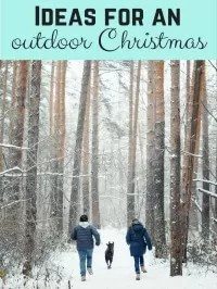 things to do outside at christmas
