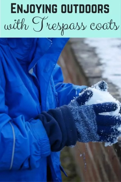 Outdoors fun with trespass coats - Bubbablue and me