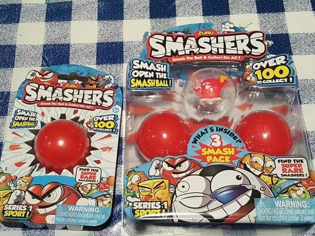 Smashers packs