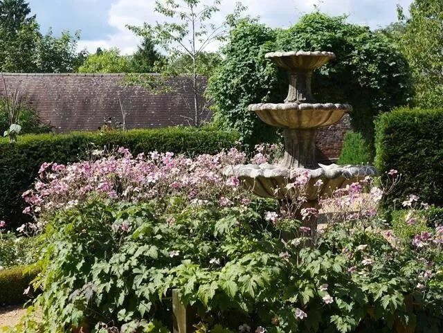 formal gardens at marwell zoo