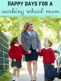working school mum