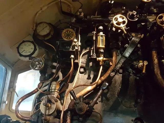 steam train valves