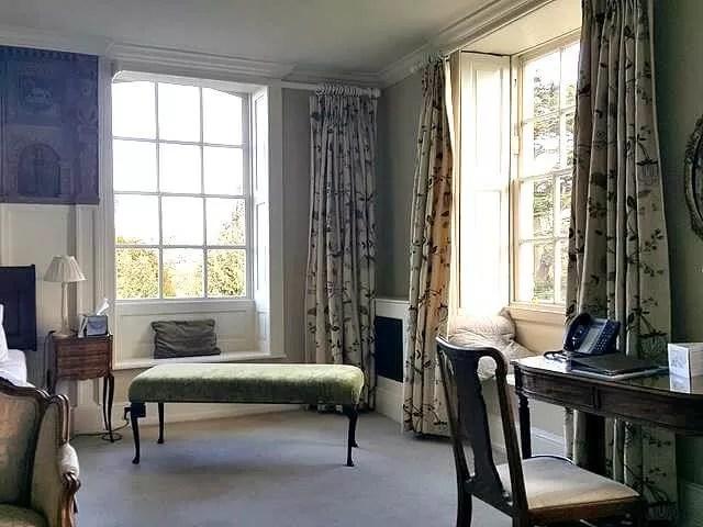 blackett bedroom at chicheley hall