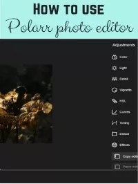 how to use polarr