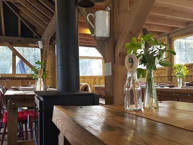 pavilion cafe at evenley wood garden