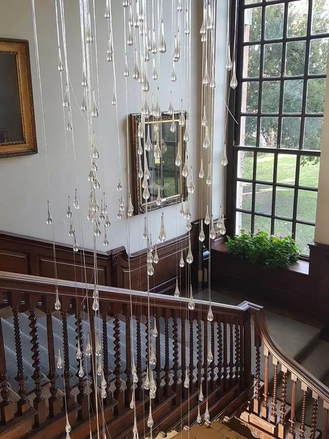 staircase at chicheley hall