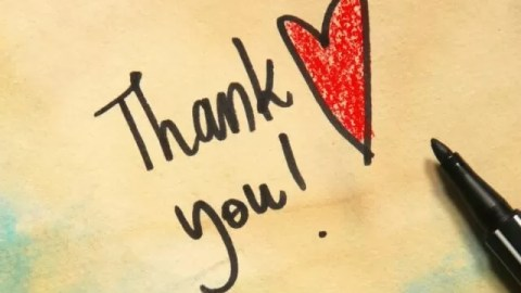 The etiquette of thank you letters