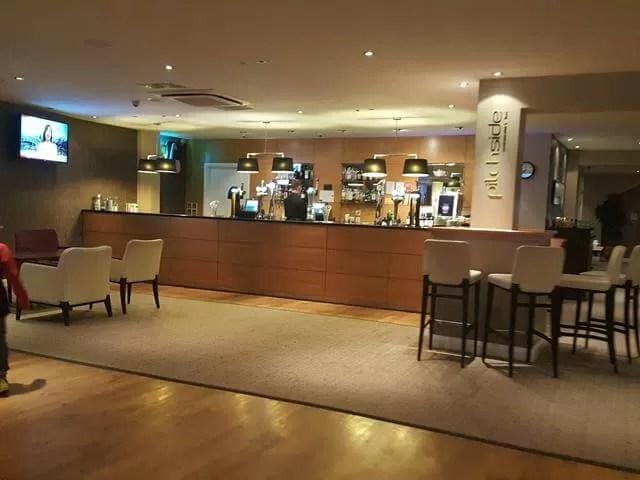 bar at doubletree hilton milton keynes