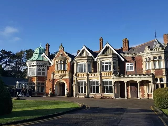 bletchley park mansion house