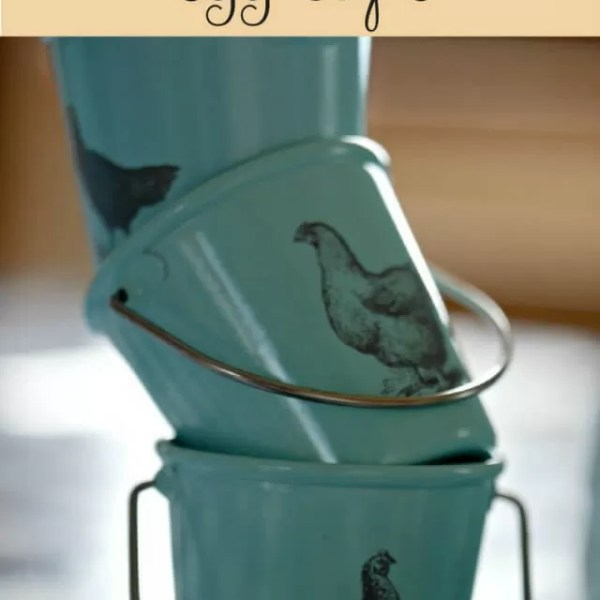 Prettiest vintage style egg cups and giveaway