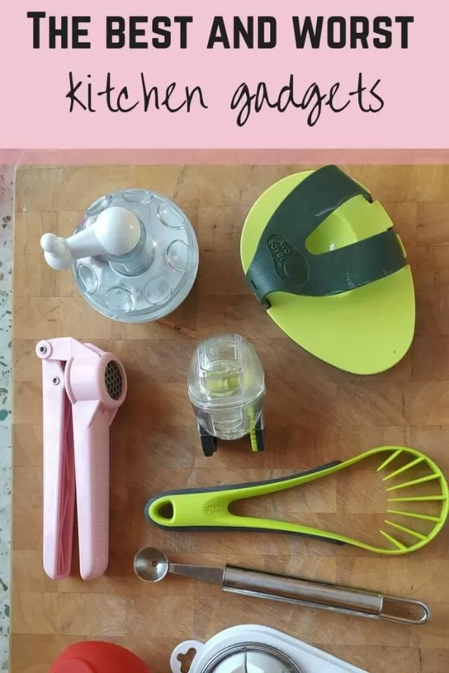 Best and worst kitchen gadgets - Bubbablue and me