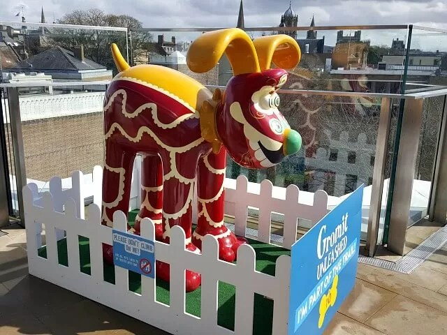 Gromit trail in Oxford