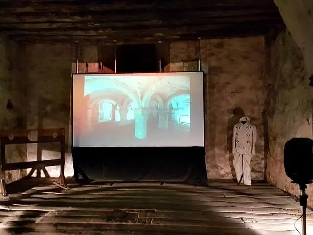 the video in St Georges tower