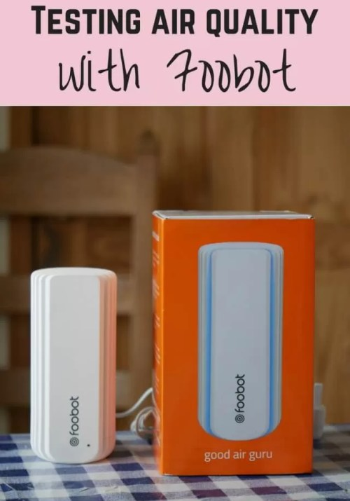 Air quality testing with foobot - Bubbablue and me