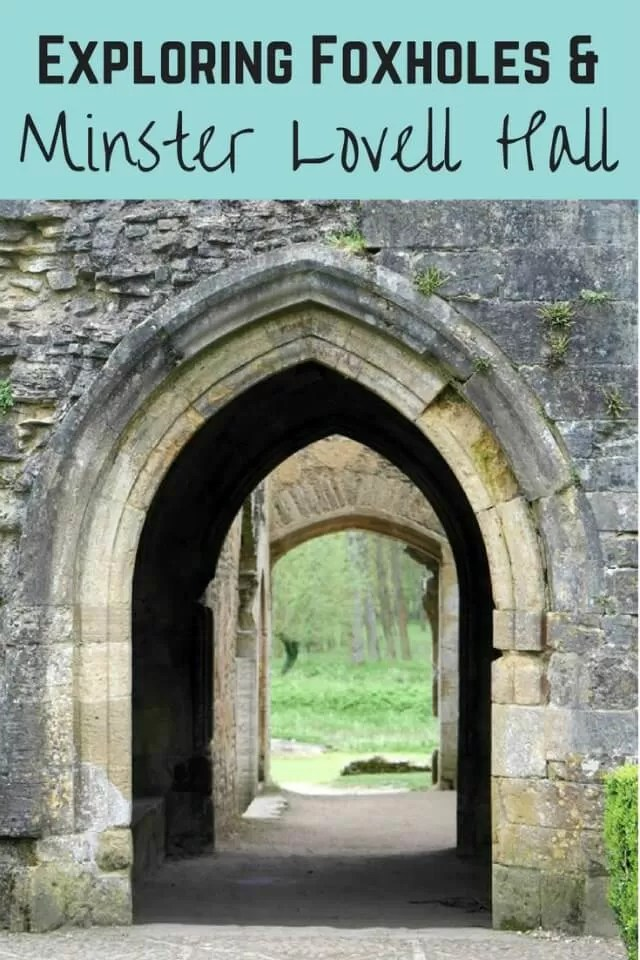 Minster Lovell Hall ruins - Bubbablue and me