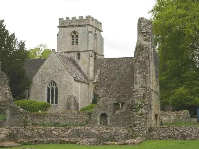 church from minster lovell hall
