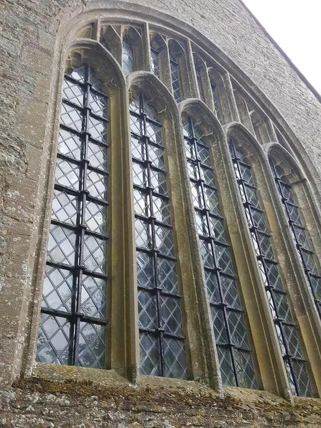 minster lovell church window