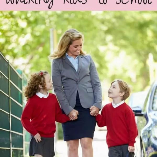Judgements on not walking kids to school