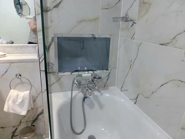 shower tv