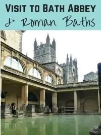 roman baths and bath abbey