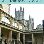 Historic Bath – visiting Bath Abbey and Roman Baths