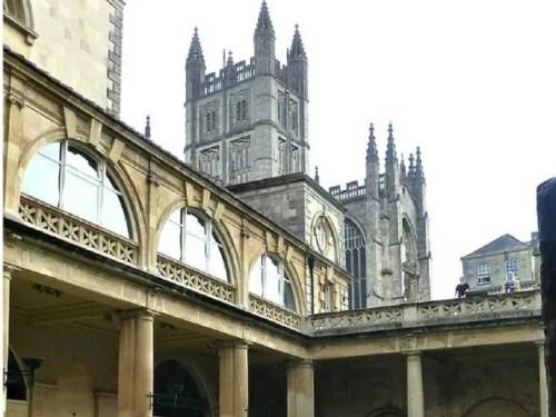 Bath abbey and roman baths - Bubbablue and me
