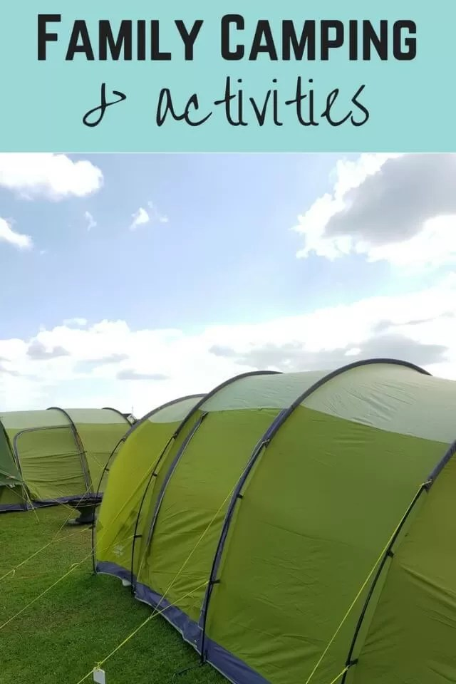 Family camping and activities
