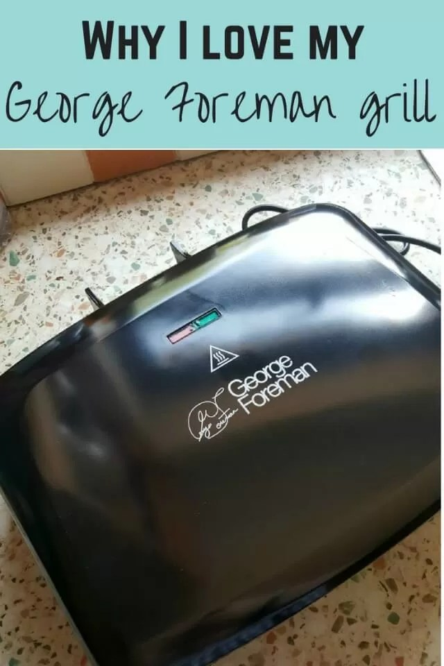 George foreman grill review - Bubbablue and me