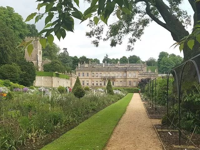 dyrham park from the gardens