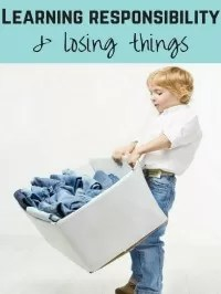 losing things and responsibility