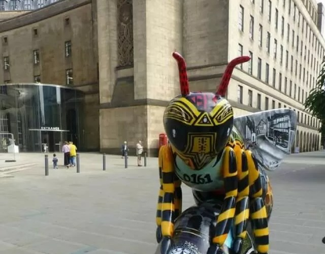 Art trails: Bee in the City Manchester