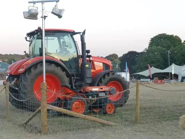big and mini me tractors