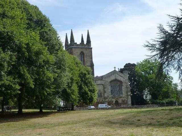 canons ashby church