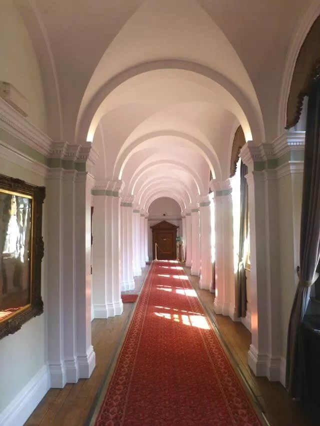 croxteth hall corridor