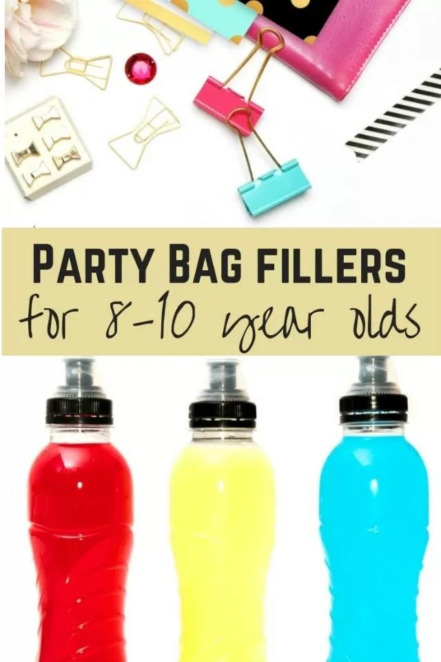 party bags 8-10yo