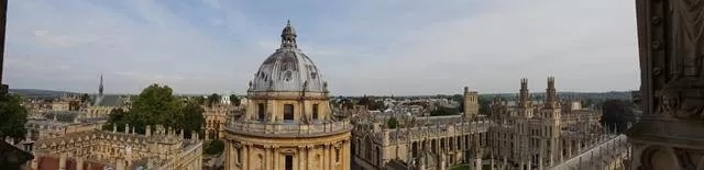 panorama of oxford