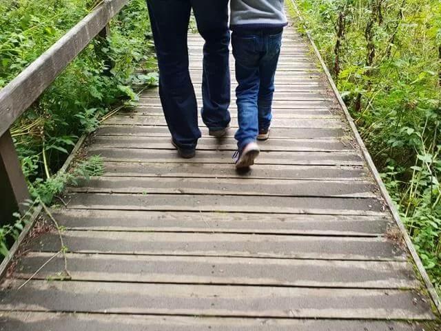 river bridge walk