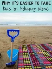 holiday with kids alone