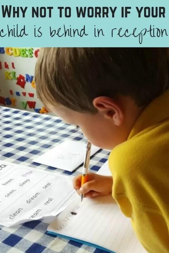worry if child is behind in school - Bubbablueandne