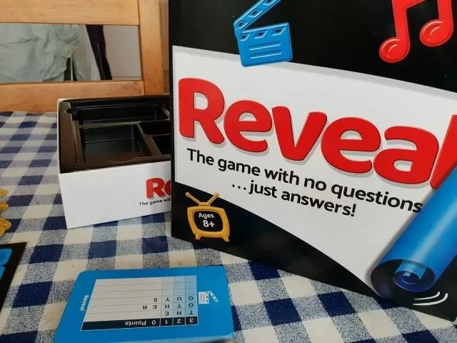 Reveal board game