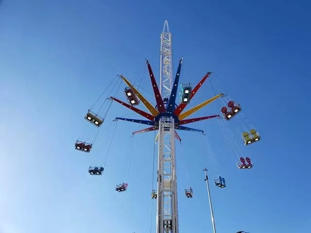 high swing fair ride