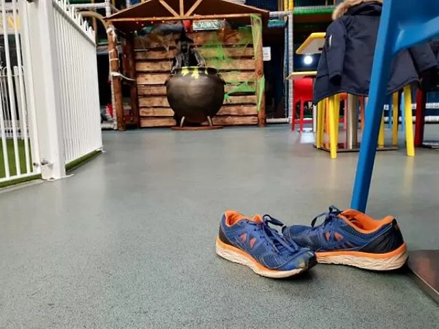 shoes left at softplay