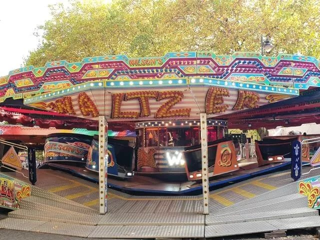 waltzers at the fair