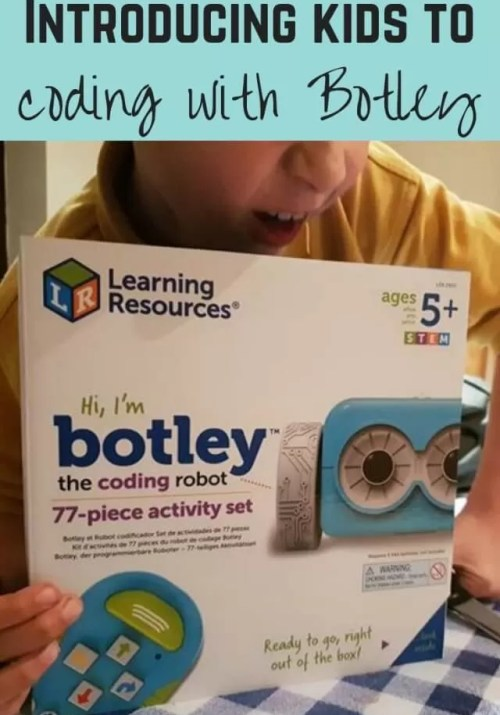 Botley coding robot review - Bubbablue and me