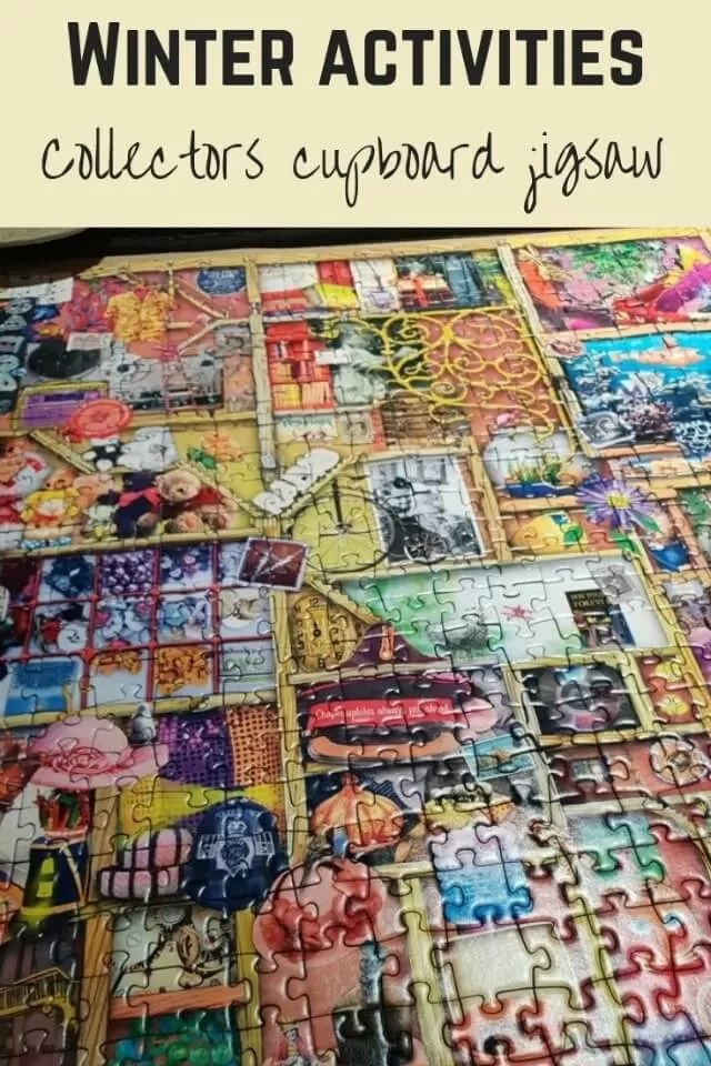 Collectors cupboard jigsaw puzzle - Bubbablue and me