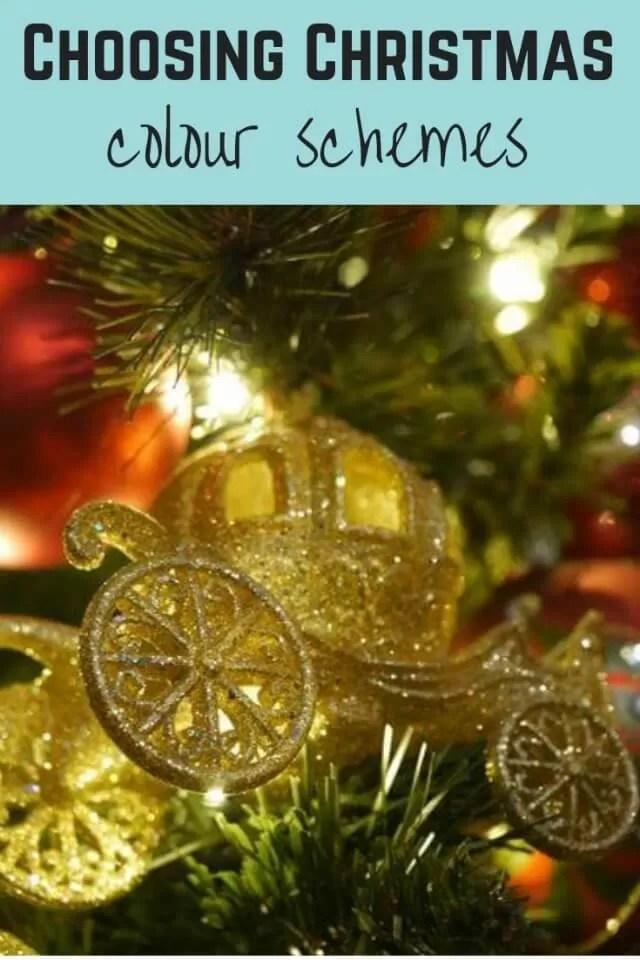 choosing christmas colour schemes - Bubbablue and me