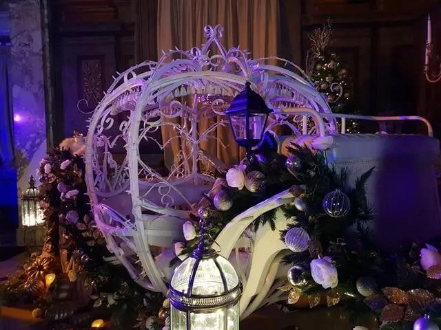 cinderella carriage display